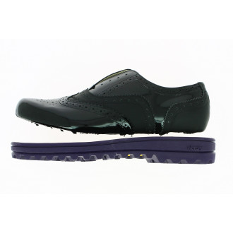 Create semelle Winter City violette + tige Oxford Elia
